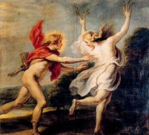 Apollo Chasing Daphne, Cornelis de Vos, ca. 1630