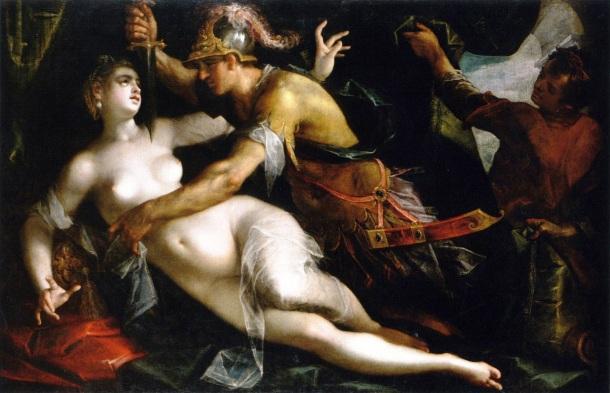 Tarquinius und Lucretia, Hans von Aachen, ca. 1600